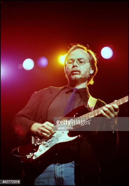 Walter Becker of Steely Dan performing at Madison Square Garden New York on 18 August 1993