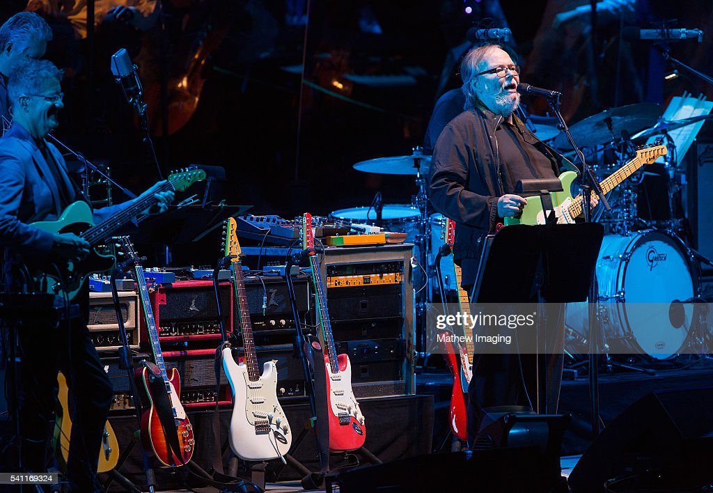 Walter Becker of Steely Dan performs at the the Hollywood Bowl Opening Night at the Hollywood Bowl on June 18, 2016 in Hollywood, California.