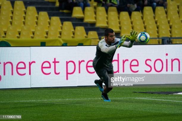 Walter BENITEZ of Nice during the Ligue 1 match between FC Nantes and OGC Nice at Stade de la Beaujoire on October 5 2019 in Nantes France
