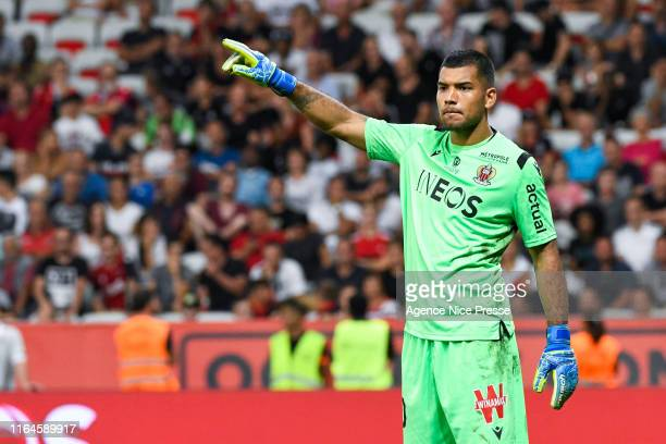 Walter Benitez of Nice during the Ligue 1 match between OGC Nice and Olympique de Marseille on August 28, 2019 in Nice, France.
