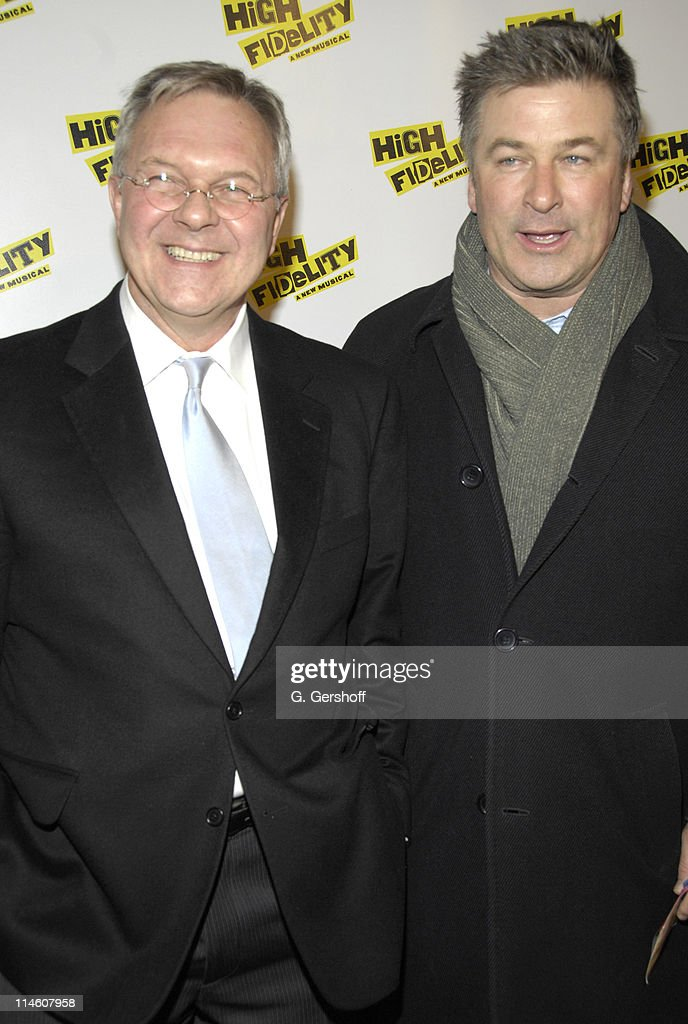 Walter Bobbie, director and Alec Baldwin during 'High Fidelity' Broadway Opening - December 7th, 2006 at Imperial Theatre in New York City, New York, United States.