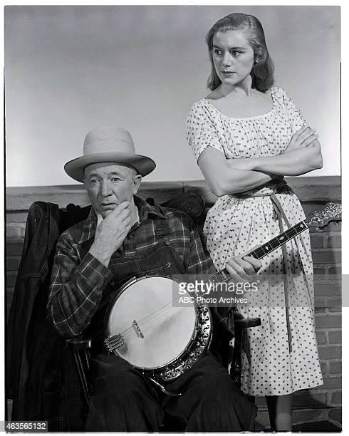MCCOYS Walter Brennan and Kathleen Nolan Gallery Shoot Date May 22 1957 WALTER