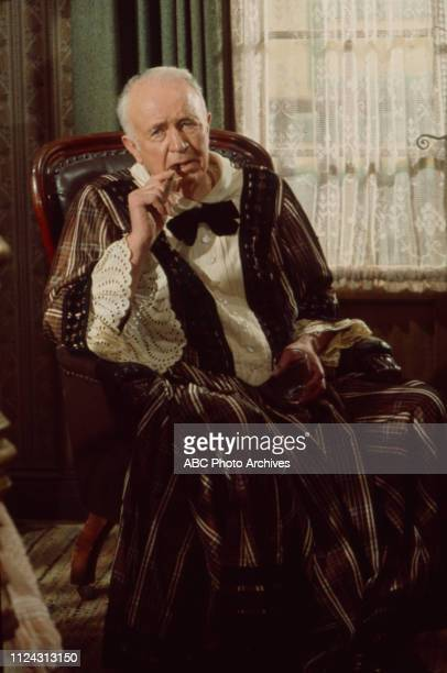 Walter Brennan appearing in the Walt Disney Television via Getty Images series 'Alias Smith and Jones' episode 'The Day They Hanged Kid Curry'