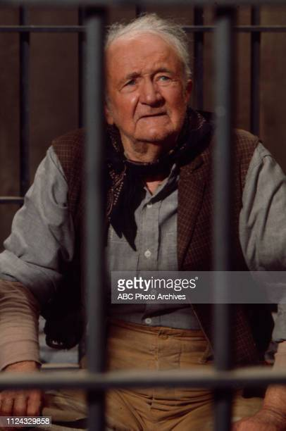 Walter Brennan appearing in the Walt Disney Television via Getty Images series 'Alias Smith and Jones' episode '21 Days to Tenstrike'.