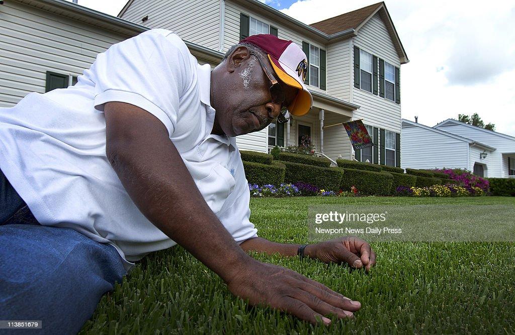 Walter Clemonsu0027 Yard Is A Mixture Of Pennington, Kentucky 31 And Titan  Grass Seeds