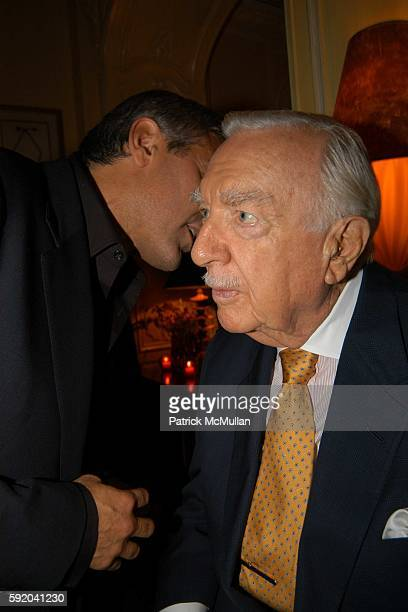 Walter Cronkite Hosts a Private Screening of Warner Independent Pictures' Good Night And Good Luck Directed by George Clooney at Hotel Plaza Athenee...