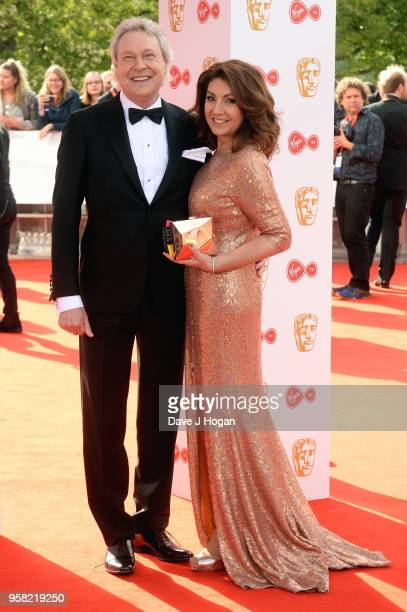 Walter Eddie Rothe and Jane McDonald attend the Virgin TV British Academy Television Awards at The Royal Festival Hall on May 13 2018 in London...