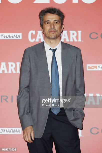 Walter Fasano arrives at the Ciak D'Oro Awards Ceremony at Link Campus University on June 7 2018 in Rome Italy