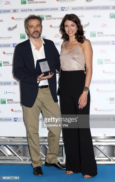 Walter Fasano attends a photocall ahead of the Nastri D'Argento nominees presentation at Maxxi Museum on May 29 2018 in Rome Italy