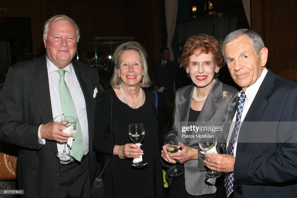 7d1669ae Walter Foster, Elisabeth Foster, Anne Bricker and Paul Ross attend ...