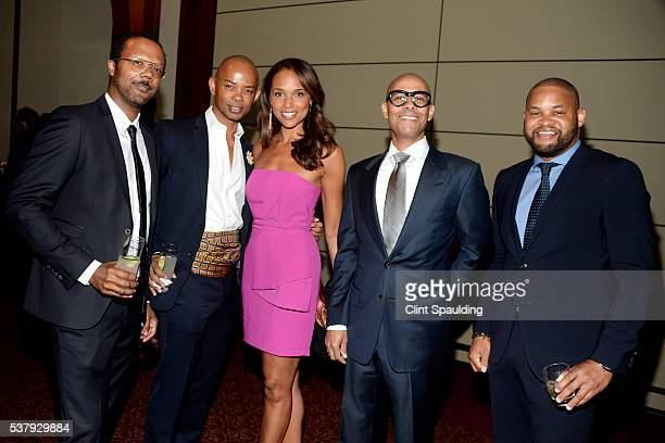 Walter Frye Spencer Means Justine Parchment Marc Chamblin and Cory Printup attend The Fresh Air Fund Spring Benefit 140th Birthday Celebration at...