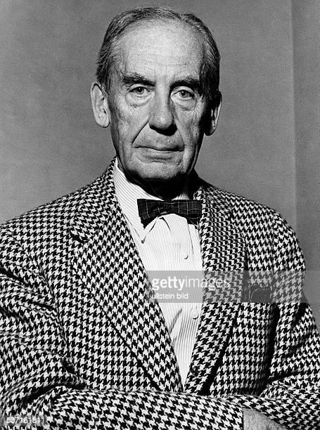 Walter Gropius , Architekt, D, Porträt, - um 1960