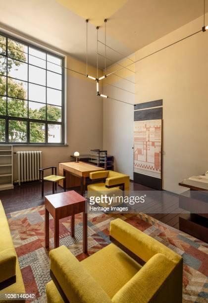 Walter Gropius' office 1924 Main building BauhausUniversity Weimar Germany 2018 Architect Henry van de Velde UNESCO World Heritage Site in 1996