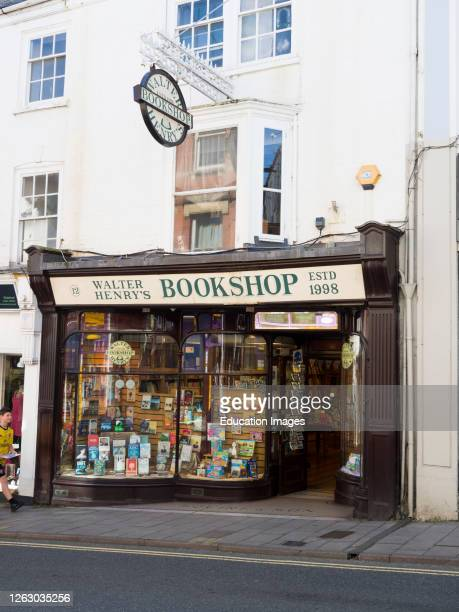 Walter Henry's Bookshop, Bideford, North Devon, UK.