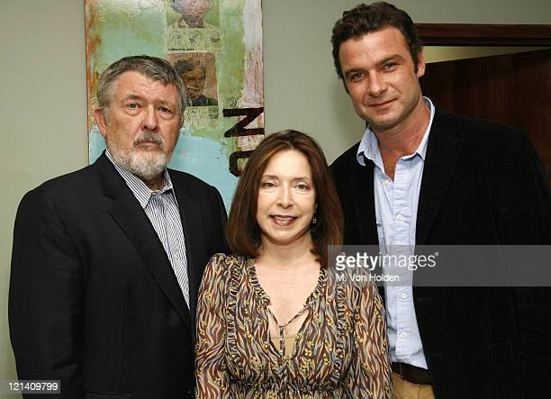 Walter Hill SCAD president Paula Wallace and Liev Schreiber Recipient of the Achievement Award in Cinema