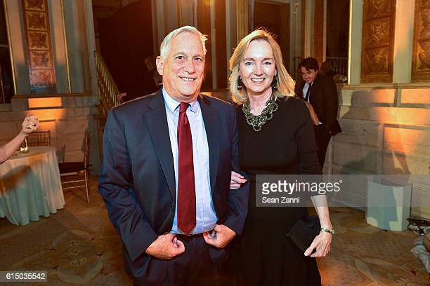 Walter Isaacson and Cathy Isaacson attend The New York Women's Foundation's 2016 Fall Gala at The Plaza on October 13 2016 in New York City