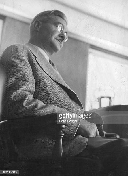 JUL 15 1952 JUL 16 1952 Walter J Hultin Accountant who made pen audit testifies in Best hearing
