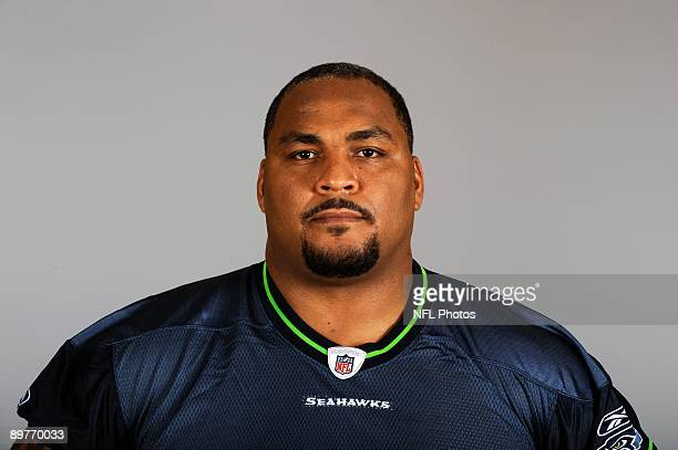 Walter Jones of the Seattle Seahawks poses for his 2009 NFL headshot at photo day in Seattle Washington