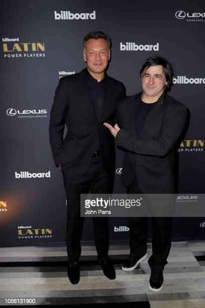 Walter Kolm founder/president WK Entertainment and Afo Verde Chairman/CEO Sony Music Latin Iberia attends Billboard 2018 Latin Power Players at W...