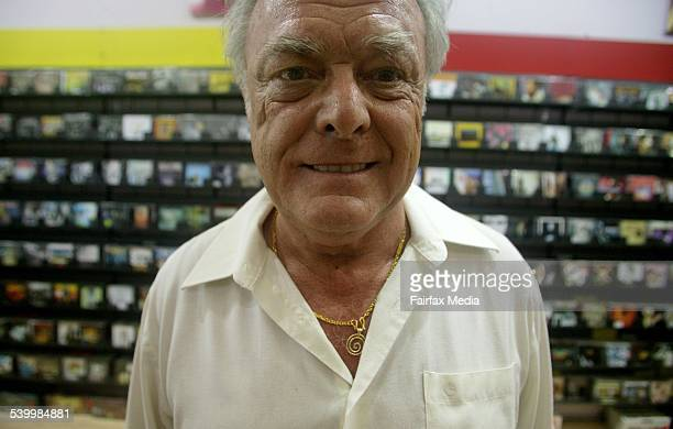 Walter Lehne owner of Dirt Cheap CDs a chain of CD shops which sells very cheap CDs imported mostly from south east asia 27 March 2006 AFR Picture by...