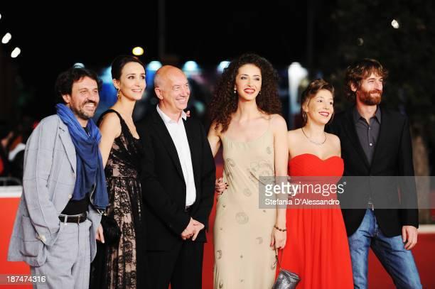 Walter Leonardi Manuela Parodi Davide Ferrario Daria Pascal Attolini Benedetta Perego and Stefano Scherini attend 'La Luna Su Torino' Premiere during...