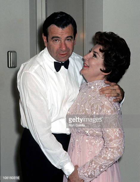 Walter Matthau and Maureen Stapleton during 41st Annual Academy Awards at The Dorothy Chandler Pavillion in Los Angeles, California, United States.
