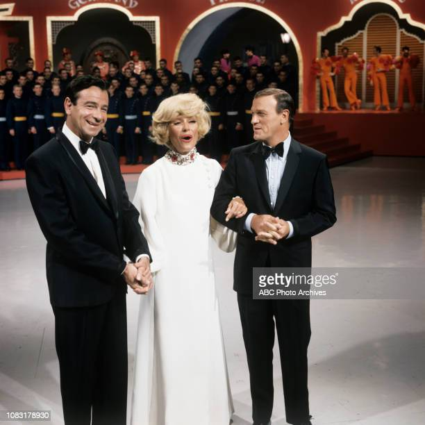Walter Matthau Carol Channing Eddy Arnold the Air Force Academy Cadet Chorale in the background appearing in the Walt Disney Television via Getty...