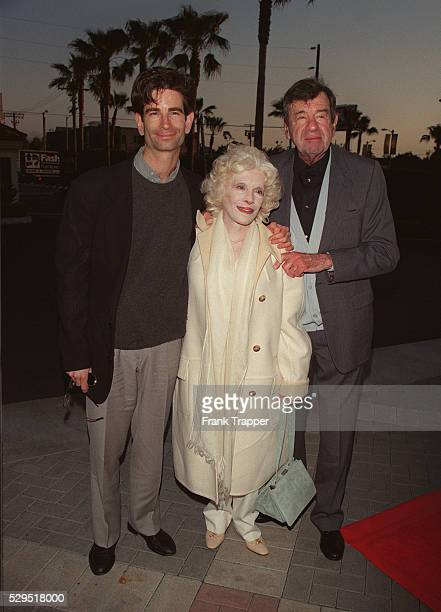Walter Matthau his wife Carol and their son Charlie arrive at the Paramount Theater