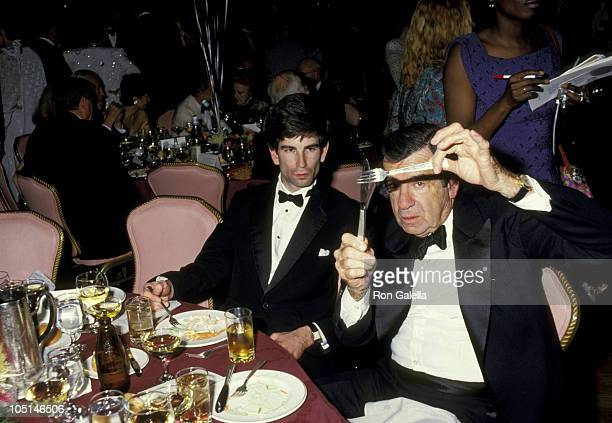 Walter Matthau Son during 41st Annual Tony Awards After Party at Mark Hellinger Theatre Hilton Hotel in New York City NY United States