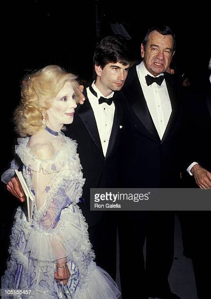 Walter Matthau Wife Carol Son Charlie during 41st Annual Tony Awards After Party at Mark Hellinger Theatre Hilton Hotel in New York City NY United...
