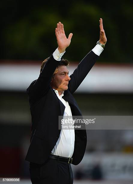 Walter Mazzari Manager of Watford during the PreSeason Friendly match between Stevenage and Watford at The Lamex Stadium on July 14 2016 in Stevenage...