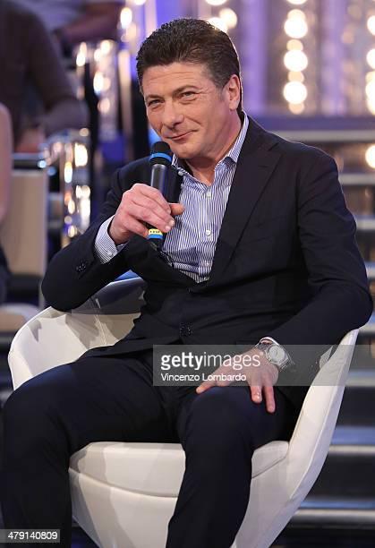 Walter Mazzarri attends at 'Quelli Che Il Calcio' TV Show on March 16 2014 in Milan Italy