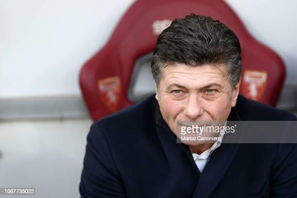 Walter Mazzarri head coach of Torino FC gestures during the Serie A football match between Torino Fc and Genoa Cfc Torino Fc wins 21 over Genoa Cfc