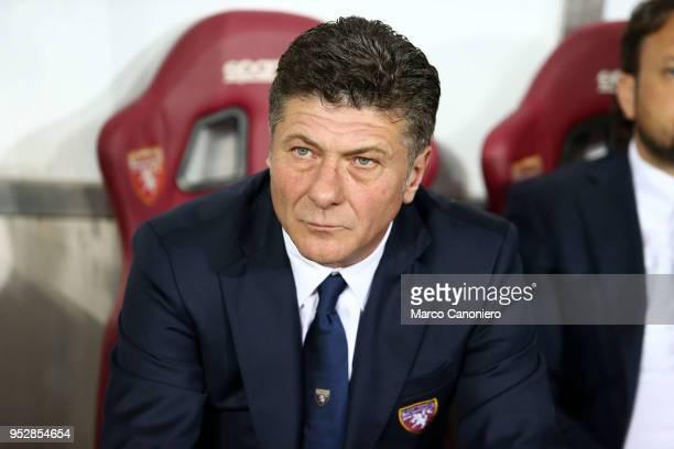 Walter Mazzarri head coach of Torino FC gestures during the Serie A football match between Torino Fc and Ss Lazio SS Lazio wins 10 over Torino Fc