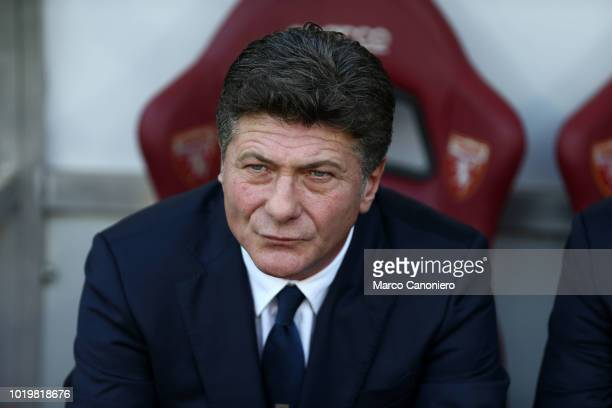 Walter Mazzarri head coach of Torino FC looks on before the Serie A football match between Torino FC and As Roma