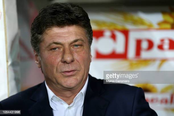 Walter Mazzarri head coach of Torino FC looks on before the Serie A football match between Torino FC and Acf Fiorentina The match end in a tie 11