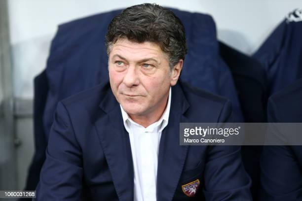 Walter Mazzarri head coach of Torino FC looks on before the Serie A football match between Torino FC and Parma Calcio Parma Calcio wins 21 over...