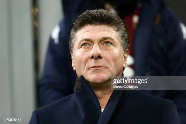Walter Mazzarri head coach of Torino FC looks on before the Serie A football match between Ac Milan and Torino Fc The match end in a tie 00