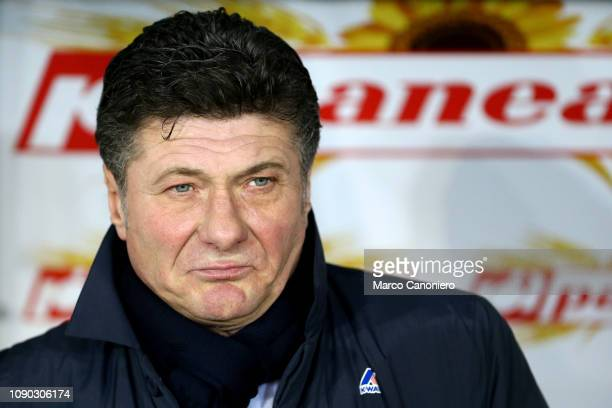 Walter Mazzarri head coach of Torino FC looks on before the Serie A football match between Torino FC and Fc Internazionale Torino Fc wins 10 over Fc...
