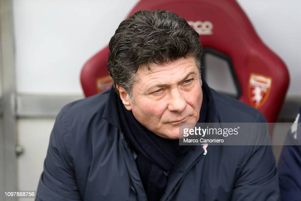 Walter Mazzarri head coach of Torino FC looks on before the Serie A football match between Torino FC and Udinese Calcio Torino Fc wins 10 over...