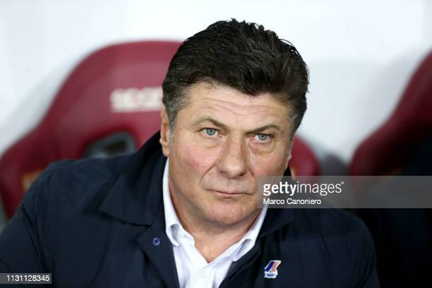 Walter Mazzarri head coach of Torino FC looks on before the Serie A football match between Torino FC and Bologna Fc Bologna Fc wins 32 over Torino Fc