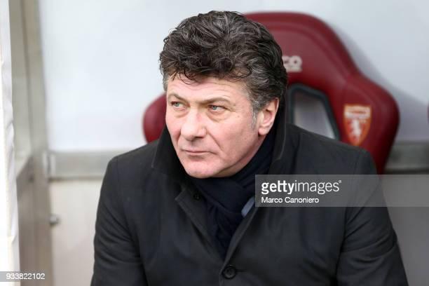 Walter Mazzarri head coach of Torino FC looks on before the Serie A football match between Torino FC and ACF Fiorentina ACF Fiorentina wins 21 over...