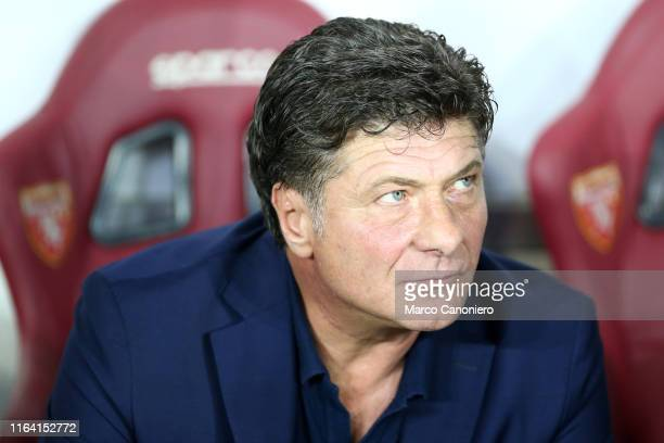 Walter Mazzarri head coach of Torino FC looks on before the the Serie A match between Torino FC and Us Sassuolo Calcio Torino Fc wins 21 over Us...