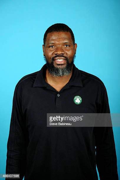 Walter McCarty of the Boston Celtics poses for a portrait on September 29 2014 at the the Boston Cetlics Training Center at Healthpoint in Waltham...