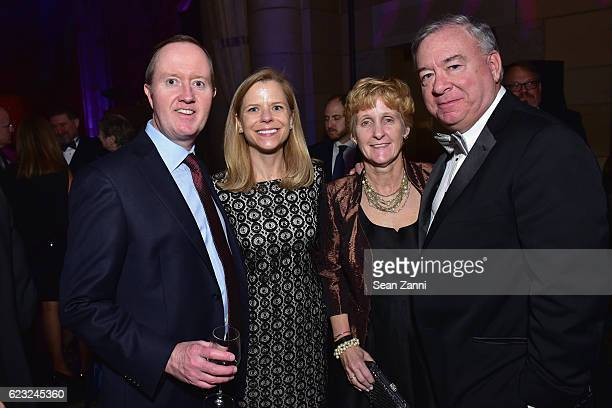 Walter McNulty Barbara McNulty Cathleen Sweeny and Michael Sweeny attend the Silver Hill Hospital 2016 Giving Hope Gala at Cipriani 42nd Street on...