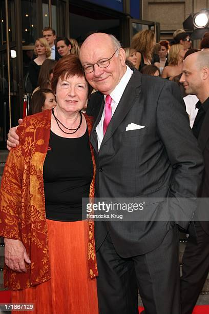Walter Momper and wife Anne With The anniversary gala to 25 Years of New FriedrichstadtPalast In Berlin