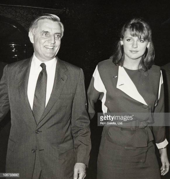 Walter Mondale and Eleanor Mondale during Sighting at Jimmy's Restaurant at Jimmy Restaurant in Los Angeles California United States