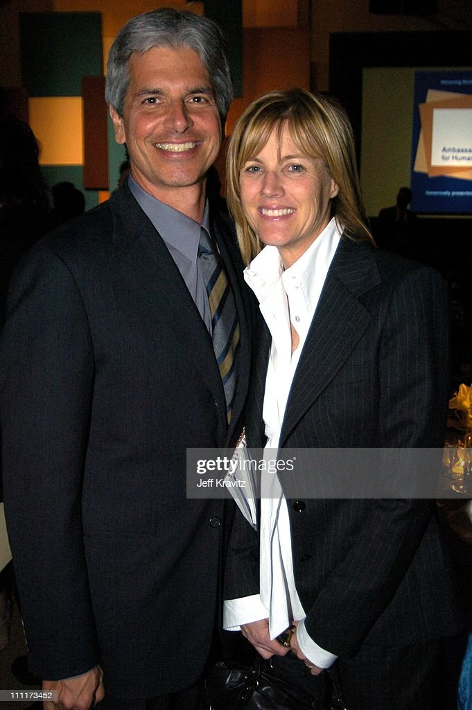 Walter Parkes and Laurie MacDonald during Shoah Foundation Exclusive Event at Amblin Entertainment on Universal Studios in Universal City, California, United States.