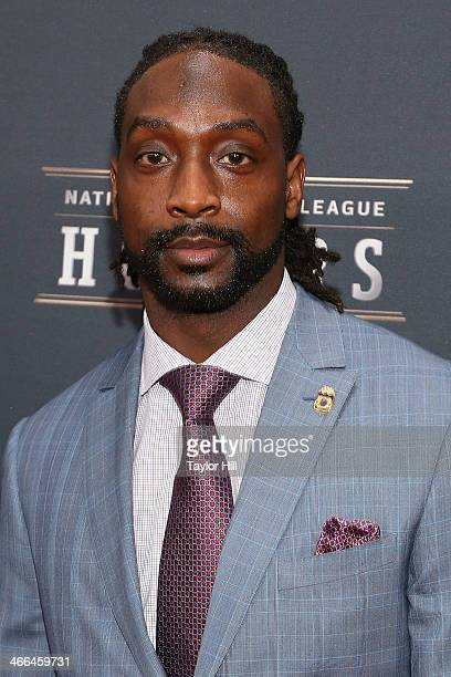 Walter Payton Man of the Year recipient Chicago Bears cornerback Charles Peanut Tillman attends the 3rd Annual NFL Honors at Radio City Music Hall on...
