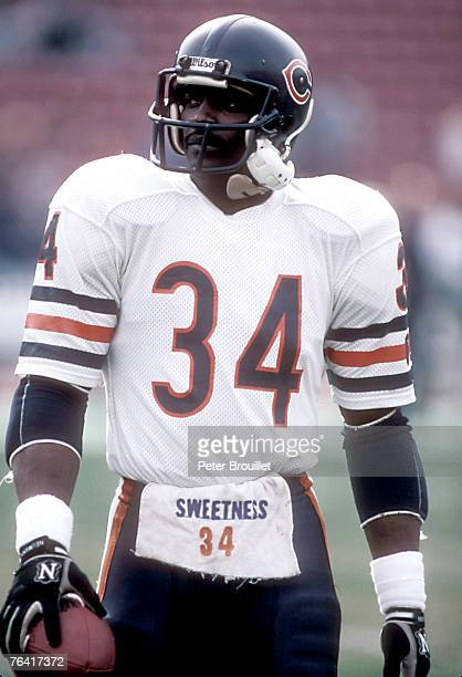 Walter Payton of the Chicago Bears